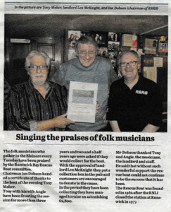 The Whitby Gazette published this on 26th June.